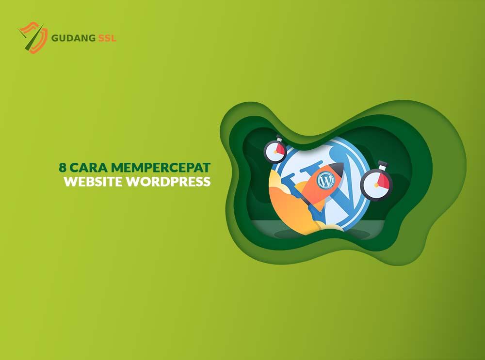 featured image cara mempercepat website