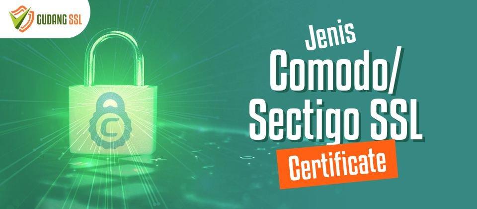 Jenis Comodo SSL Certificate