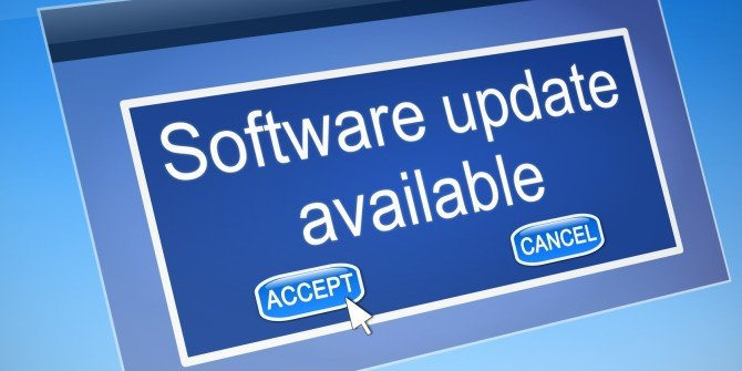 Update Software Rutin