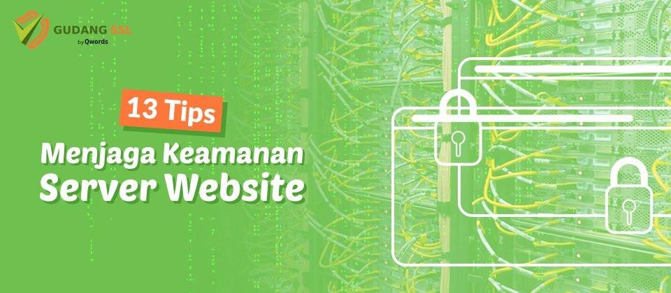 tips menjaga keamanan server
