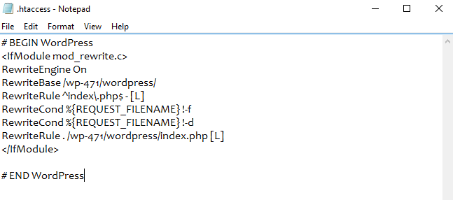 File htaccess