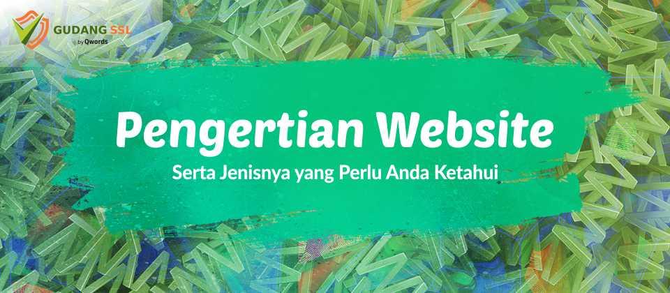 Pengertian Website Serta Jenisnya