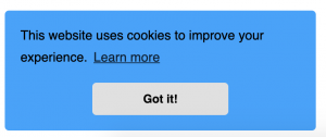 Cookie Notification