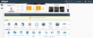 Install Tema WordPress via cPanel