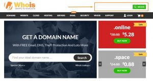 Cek domain di WHOIS